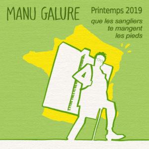 Le dernier album (numérique) en date de Manu Galure
