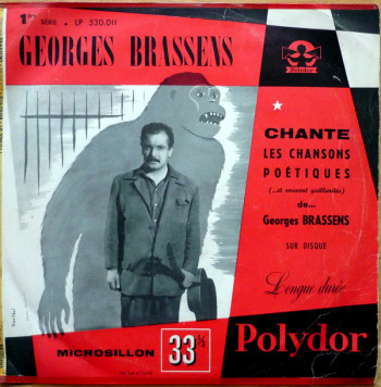 Brassens 1954 chante les chansons poétiques de Brassens -enregistrées en1952