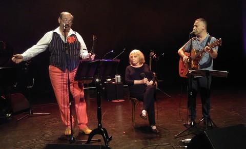Eric Toulis, Francesca Solleville et Nicolas Bacchus (photos Babette Richard)
