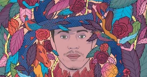 Ivan Tirtiaux (détail de la pochette de son nouvel album)