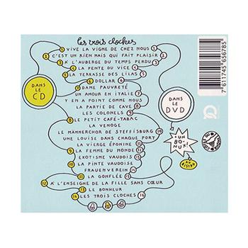 SARCLORET BUHLER GLAUS Les 3 cloches Villard Gilles 2010 verso