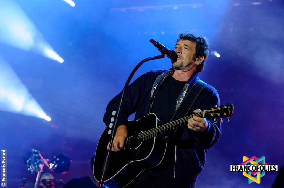 Patrick Bruel à Spa en 2019 Photo ©François Evrard