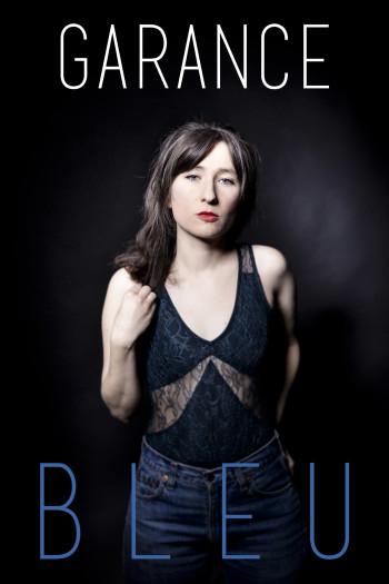 Garance Affiche pour Bleu -Photo David Desreumaux -Graphisme Romain Dao