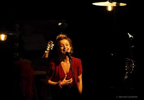 Leïla Huissoud (photo Bernard Lambotte)