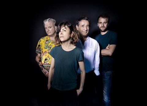 Leprest Symphonique : Sanseverino, Clarika, Romain Didier et Cyril Mokaiesh (photo David Desreumaux/Hexagone)