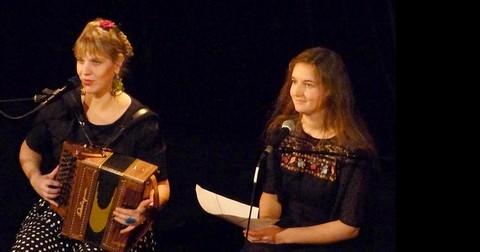 Coline Malice et AnneLise Roche