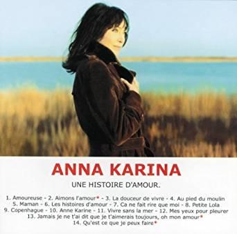 KARINA Anna Une histoire d'amour 2000