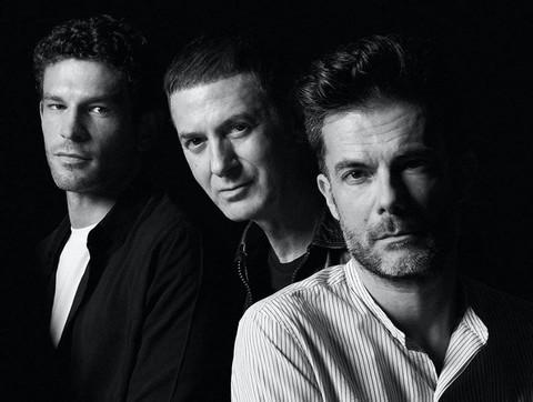 Arnaud Vallois, Etienne Daho et Olivier Tallec (photo  Laurent Humbert)