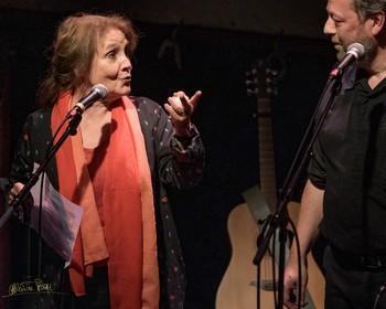 Avec Michèle Bernard