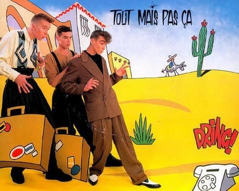 Hubert Mounier (à droite) avec L'Affaire Louis Trio