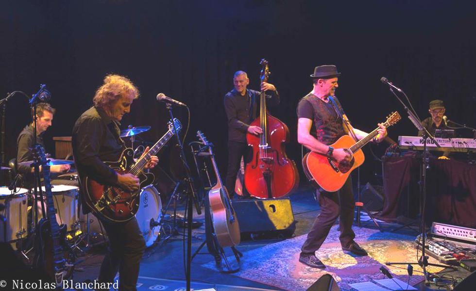 Eric Frasiak et ses musiciens à la MJC de Venelles. © N Blanchard