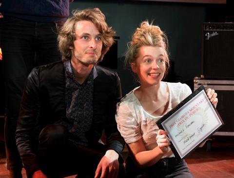 Matéo Langlois et Francœur, les deux lauréats (photos Vincent Capraro)