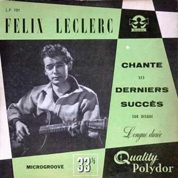 LECLERC Félix 1951 chante ses derniers succès