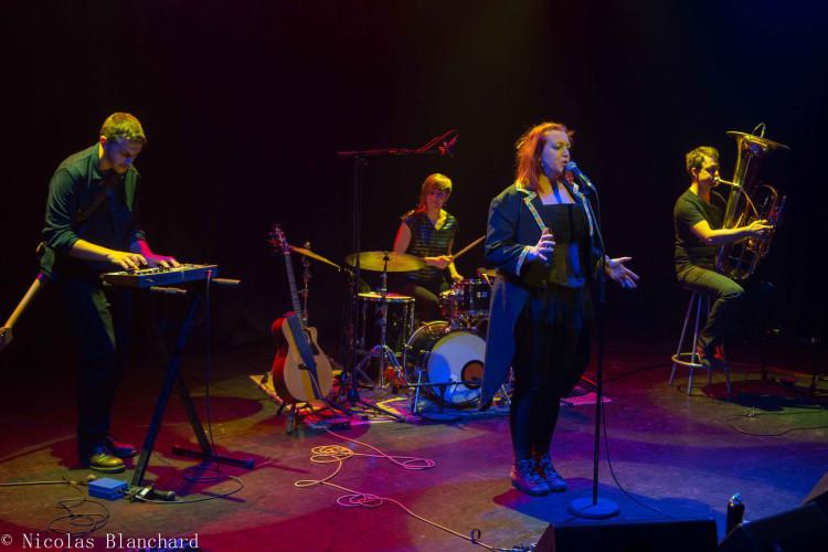 Evelyne Gallet en quartet à Venelles février 2020 ©N Blanchard