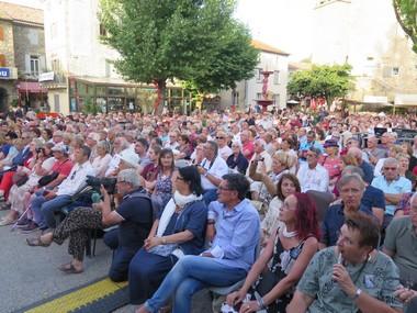 Festival Jean-Ferrat à Antraigues (Le Dauphiné Libéré)