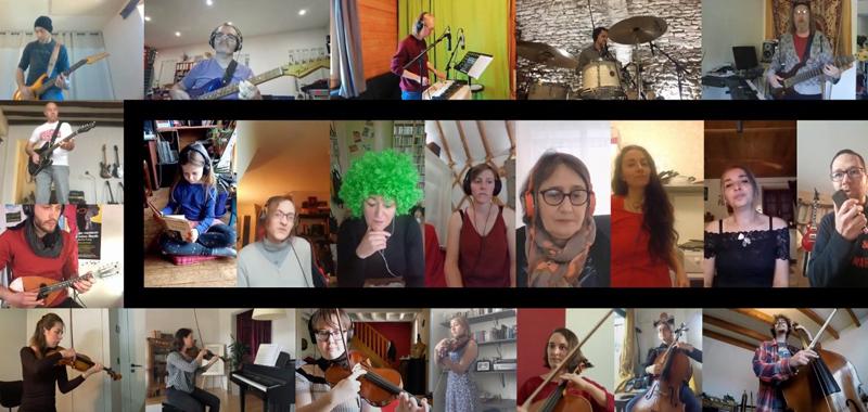Le Grand Orchestre du Confinement de Séverin Valière Capture d'écran