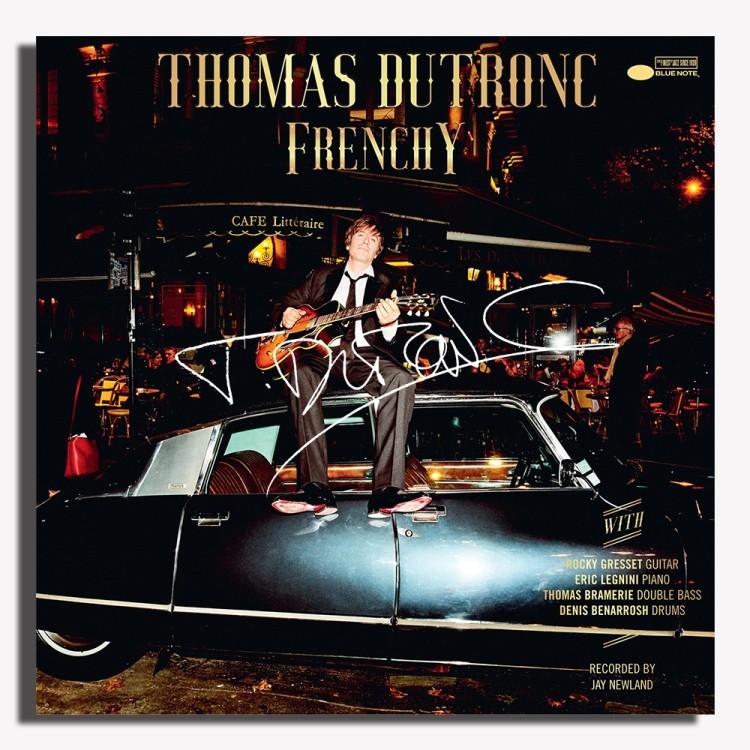 DUTRONC Thomas 2020 Frenchy Blue Note dédicacé