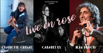 Live Rose Charlotte Grenat Cabaret LX Jean Dubois