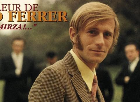 Nino Ferrer (détail d'une pochette de disque)