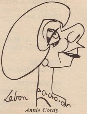 Caricature de Lebon
