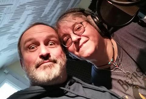 """""""Magasin Général"""" : Steve Normandin et Sylvie Briday (photo non crédité tirée de leur facebook)"""