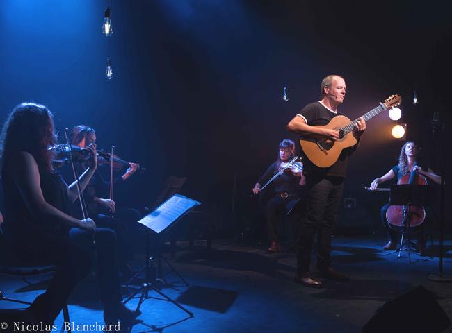 Tuibaut Defever & le Well Quartet à Venellesd ©Nicolas Blanchard