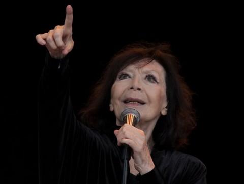 Juliette Gréco (photo Vincent Capraro)