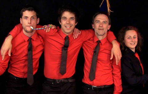 Les Goguettes (en trio mais à quatre) (photo non créditée)
