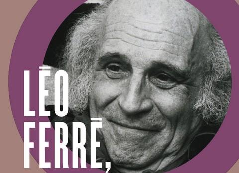 """Détail de la couverture du livre """"Léo Ferré, l'archipel"""" (photo Pascal Lebrun / Collection privée Jean-Paul Liégeois)"""