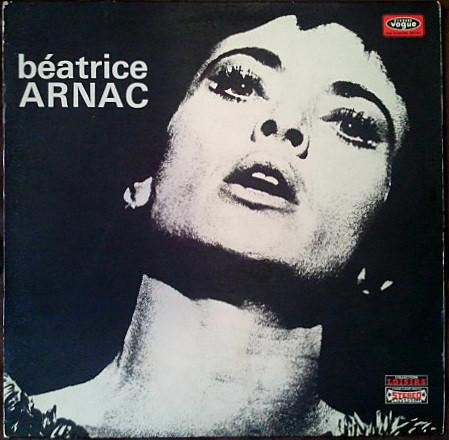 Béatrice Arnac en 1973, pochette vinyle