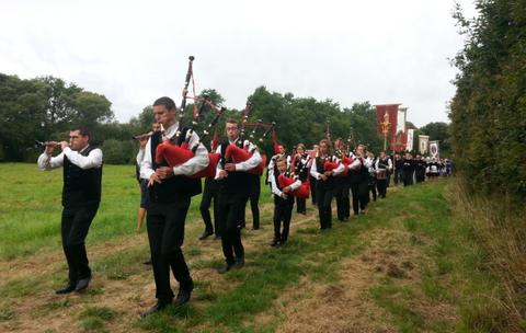 Pas même la possibilité de faire une procession pour faire fuir le Covid (photo Michel Kemper)