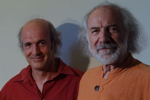 Gaël et Bernard Ascal (photo Marie-Christine Mazzola)