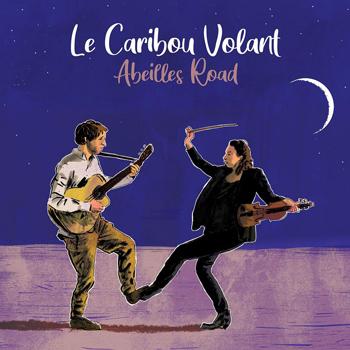 LeCaribouVolant 2021 Abeille Road visuel Vinyle