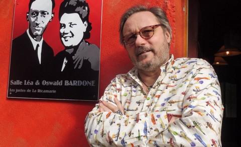 Jeanluc Epalle, dans son théâtre (photo Murielle Peyre)