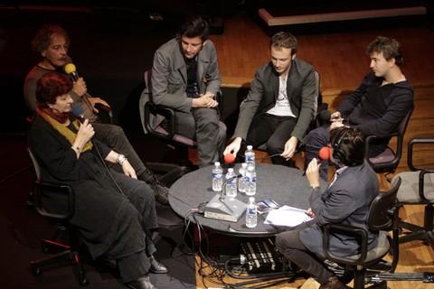 """""""Le Pont des artistes"""", 6 Octobre 2011. Isabelle Dhordain recevait Anne Sylvestre, Gianmaria Testa, Alexis HK, Renan Luce et Benoit Dorémus)"""