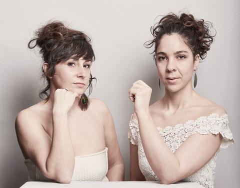 Coline Linder et Oriane Lacaille (photo Fabien Tijou)