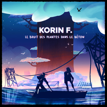 Korin F. 2020 Le bruit des plantes dans le béton © Camille Chauve