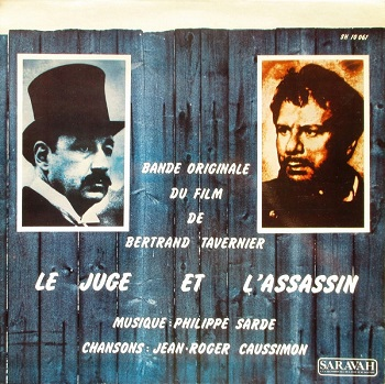 SARDE Philippe 1976 BO Le Juge et l'assassin B Tavernier