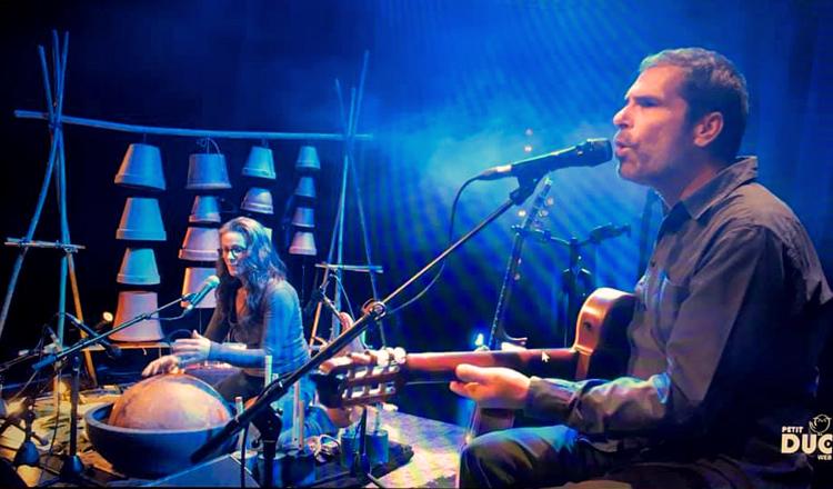 Didier Sustrac en concert au Petit Duc, capture d'écran
