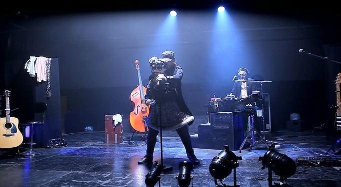 Freddo & Lulu Bris en concert  Photo ©UlysseDyvevre