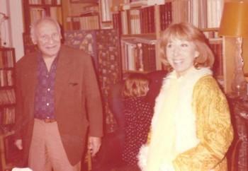 Michel et Cora Vaucaire, 1977 à Neuilly