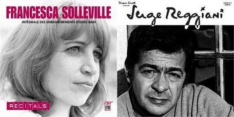 Francesca Solleville et Serge Reggiani deux interprètes parmi d'autres