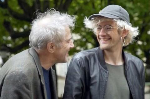 Sarclo et son fils, Albert Chinet (photo presse)