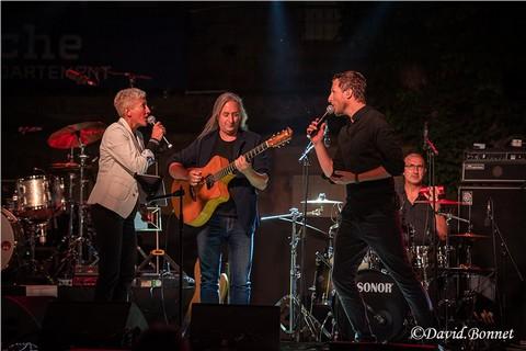 Les Férus de Ferrat sur la scène du Festival Jean-Ferrat (photos David Bonnet)
