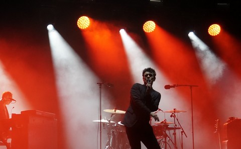 Marc Lavoine à Bruxelles (photos Annick Delperdange)