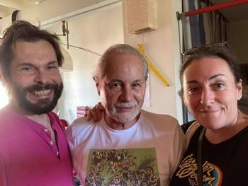 Alexandre Leitao, Dominique Cravic et Claire Elzière (photo non créditée prise sur facebook)