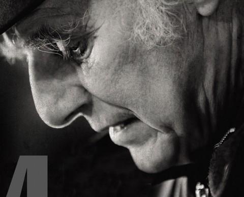 Gilles Vigneault (détail d'un des CD du coffret - photo Jean-Claude Labarre)