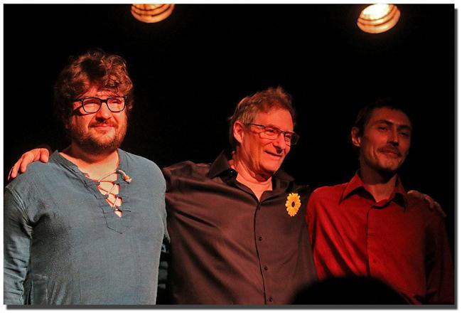 Nicolas Duclos, Rémy Tarrier & Olivier Philippson au FLF ©Patrick Boez