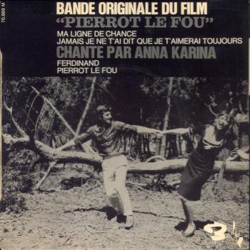 KARINA Anna 1965 Pierrot le fou