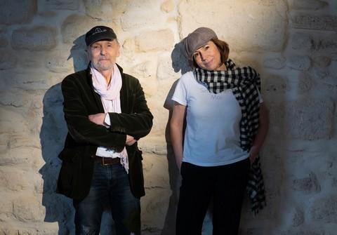 Jean Humenry et Nora Ghomri